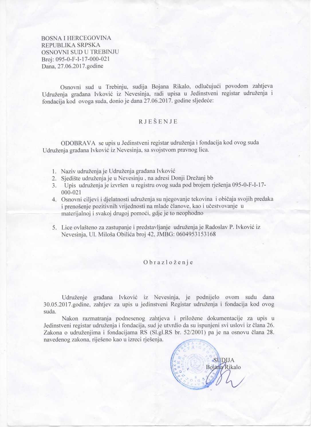 Rješenje udruženja Ivković.jpg