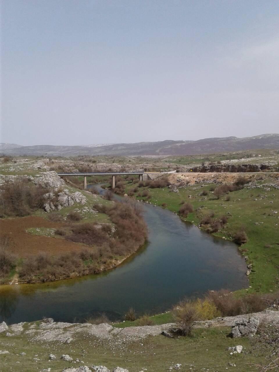 Zalomka kod Drezanjskog mosta Mart 2018